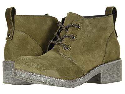 Naot Love (Oily Olive Suede/Vintage Pine Leather) Women