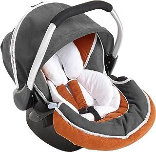 Hauck Zero Plus Group 0+ Car Seat - Orange/Grey