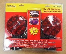 Eaglestar EAGLEKING 12V LED Magnetic Towing Trailer Light Kit 24 LEDs Multi-Function DOT