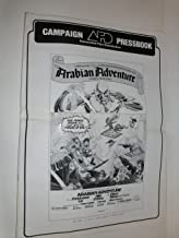 ARABIAN ADVENTURE - PRESSBOOK - 1979 - Associated Film Distribution