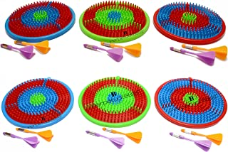 Perpetual Bliss (Pack of 12) Dart Game for Kids / Birthday Party Return Gifts (Dimension)cm:16.5x18x2