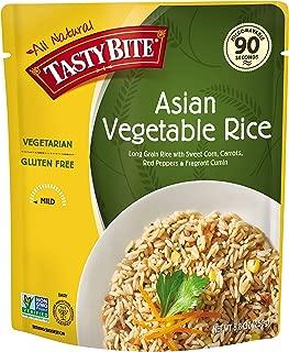 Tasty Bite Rice, Asian Vegetable, 8.8 Ounce