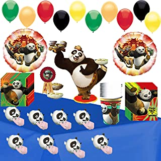 Kung Fu Panda Party Supplies Birthday Bundle