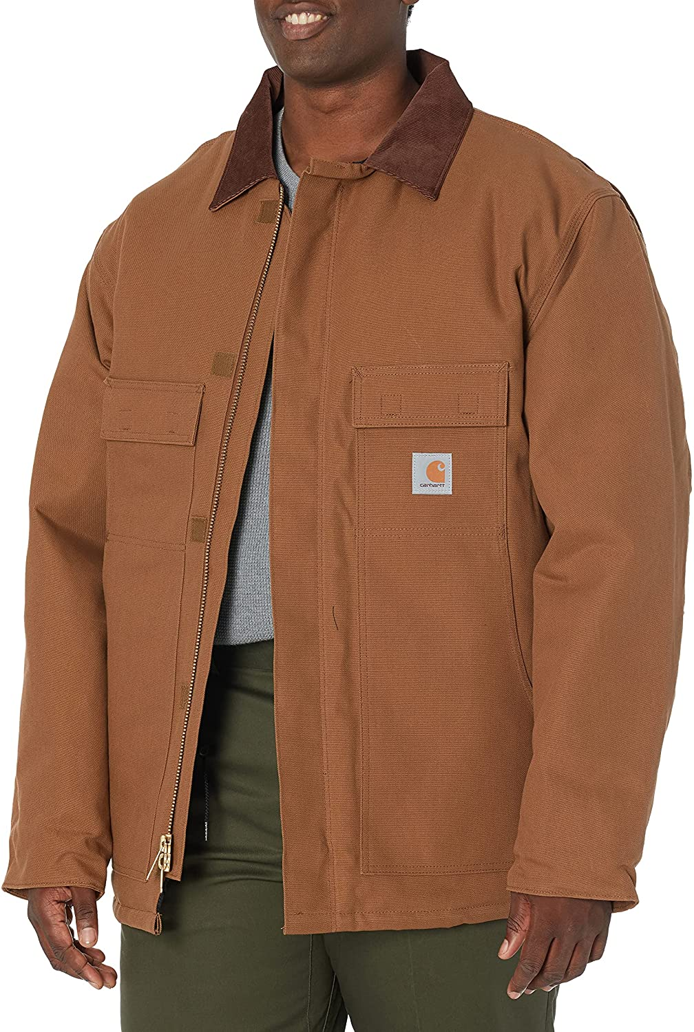 Carhartt Arlington Mall Men's Big Tall Super special price Arctic Traditional Co Lined Duck Quilt