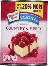 Comstock Original Pie Filling & Topping, Country Cherry, 21 Ounce (Pack of 12)