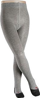 FALKE Strumpfhose Active Warm Wolle Kinder schwarz blau viele weitere Farben verstärkte Kinderstrumpfhose ohne Muster blickdicht Wollstrumpfhose atmungsaktiv schnelltrocknend 1 Stück