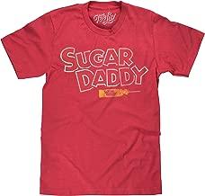 Tee Luv Sugar Daddy T-Shirt - Sugar Daddy Candy Shirt (Red)