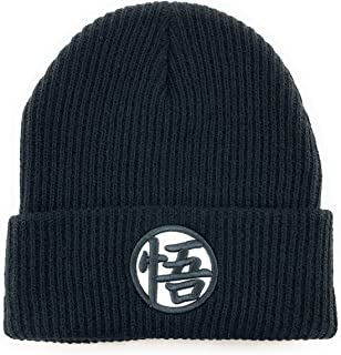 Beany Classic Dragon Ball Z Goku Beanie Hat Skull Cap Thick, Soft and Warm. Unisex. Solid Black