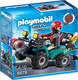 Playmobil Robber's Quad with Loot Playset Toy
