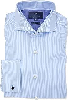 Wayver Blue Twill Stripe Business