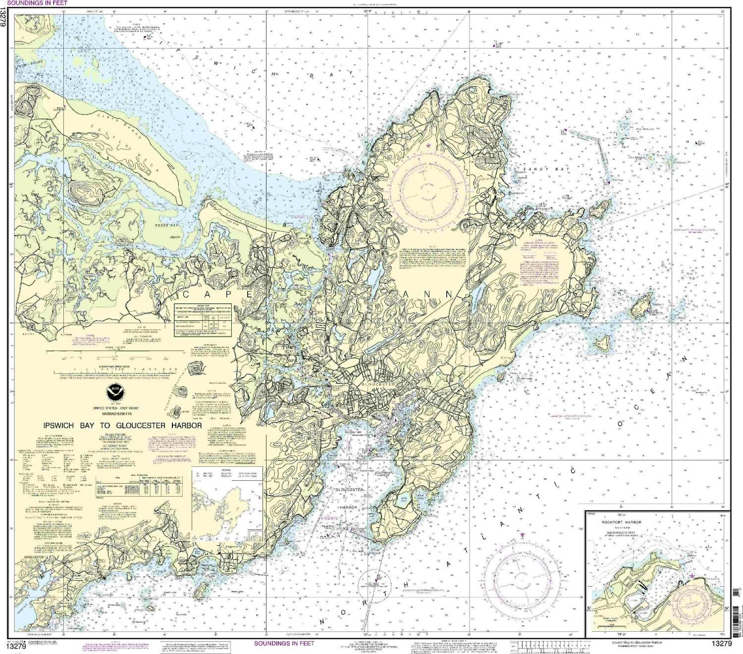Las Vegas Mall NOAA 13279-Ipswich Bay Special Campaign to Harbor Rockport Gloucester