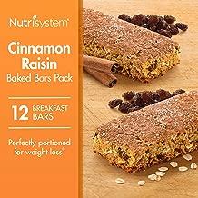 Nutrisystem® Cinnamon Raisin Baked Bars Pack, 12 Count Bars