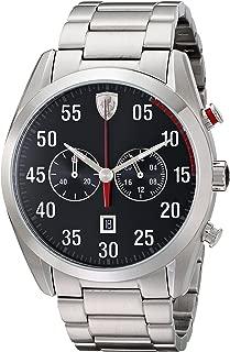 Ferrari Men's 0830176 D 50 Analog Display Quartz Silver Watch