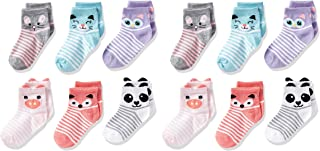 Cherokee Little Girls' 12 Pack Shorty Socks