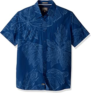 Quiksilver Men's Wake Xoa UPF 50+ Sun Protection Shirt