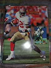 Beckett Football Card Monthly (price guide) magazine, January 1993 issue 34 Ricky Watters cover