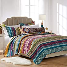Greenland Home Southwest Bedding Set, 5-Piece Full/Queen, Painted Desert