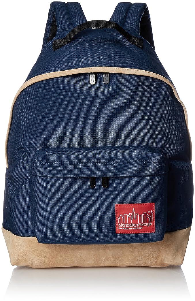 シリアル鉄道サミュエル[マンハッタンポーテージ] バックパック 公式 Suede Fabric Big Apple Backpack