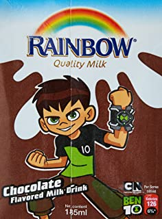 Rainbow UHT Milk Chocolate, 185 ml