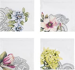Villeroy and Boch Floral Embroidered Tea Napkin (Set of 4), 6