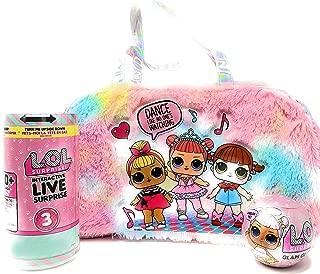 LOL Surprise Bundle Includes Glam Glitter Ball + Interactive Live Surprise Pet + Duffle Bag