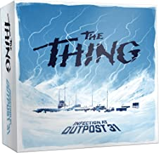 USAOPOLY The Thing Infection at Outpost 31 Board Game   1982 The Thing Movie   John Carpenter Horror Film