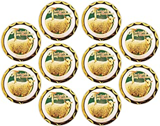 Psalm 23, Bulk Pack of 10 Memory Verse Tokens of Faith, Handout for Sunday School and Bible Study, Gold Plated Challenge C...
