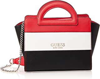 Guess Womens Tote Bag, Red Multi - VR767212