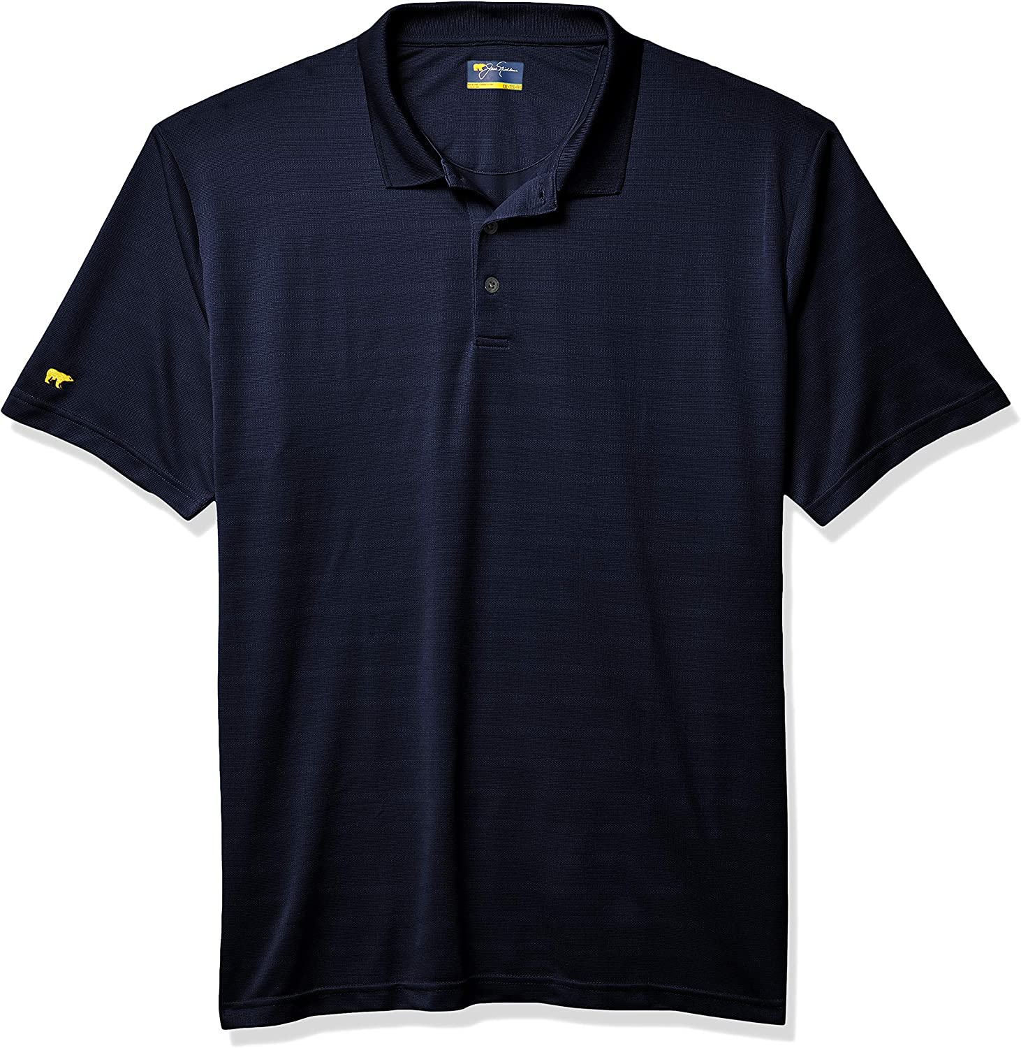 Jack Nicklaus Men's Shadow Luxury Shirt Textured New Free Shipping Polo Golf