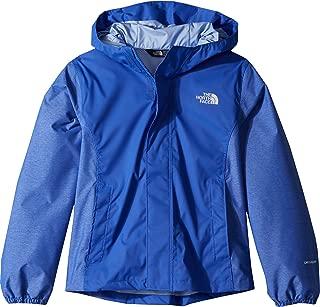 Kids Girl's Resolve Reflective Jacket (Little Kids/Big Kids) Dazzling Blue (Prior Season) X-Large
