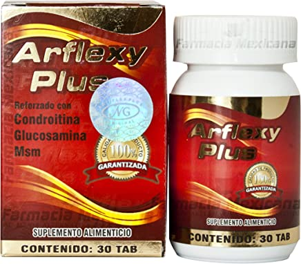 Arflexy Plus - Calcium, Glucosamine, Curcumin, and Magnesium - 30 Tablets