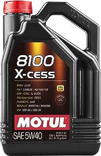 motul 5w40 8100 x clean