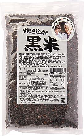 富士食品 炊き込み黒米 国内産 300g