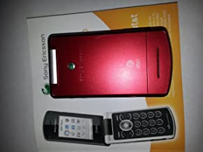 Sony Ericsson W518 No Contract 3G 3MP Camera Music GSM Red Cell Phone AT&T Wireless