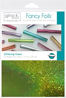 Gina K. Designs for Therm O Web Glittering Green Gina K Designs Fancy Foil 6