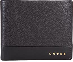Cross Nueva Fv Branded Premium Men's Leather Bi-Fold Coin Wallet with Proper Compartment for Card and Money Storage - Oak ...