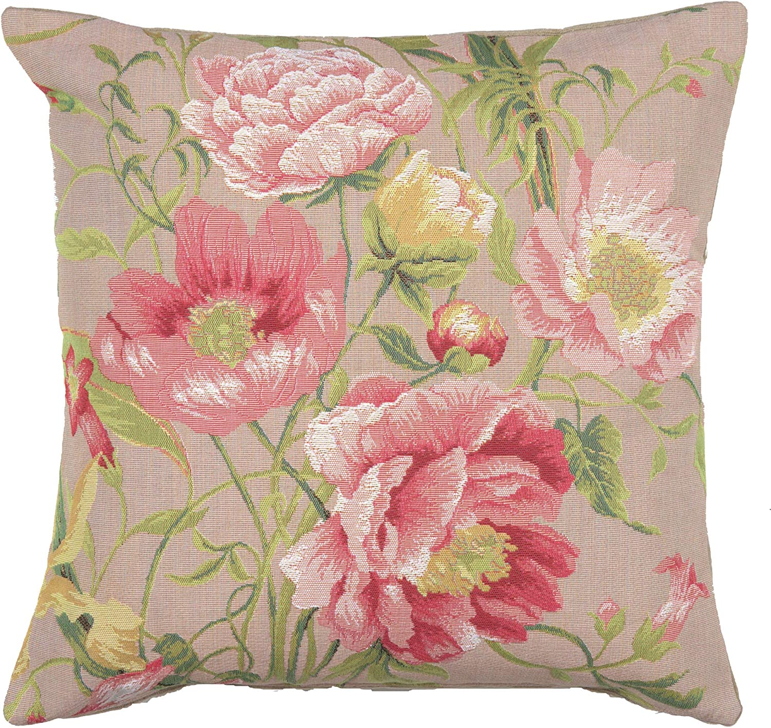 Peonies 2 French Tapestry Cushion 19.00