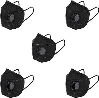 ELANOR KN95 Reusable Non-Woven Multi Color Face Mask Combo  Reusable CE & ISO Certified   KN95 Face Mask   6 Layer Filter...