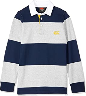 Canterbury Unisex Kids Hoop Rugby Jersey, Classic Marl, 8YRS