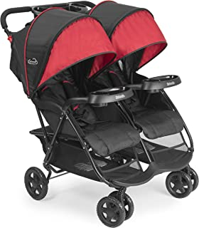 side by side twin pram