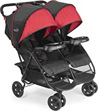 delta double umbrella stroller