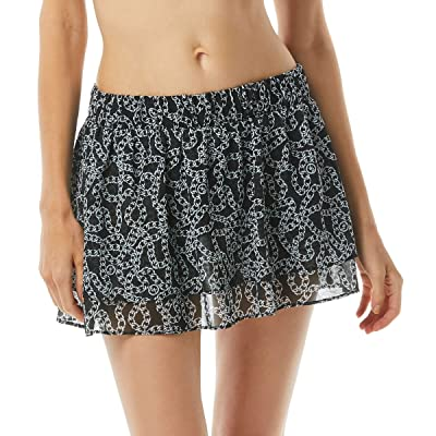 MICHAEL Michael Kors Chain Print Double Layer Skirt