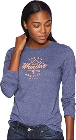 Wander Hike Cool Long Sleeve T-Shirt