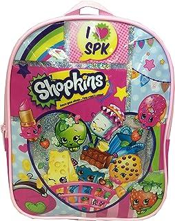 حقيبة ظهر صغيرة باللون الوردي من شوبكينز