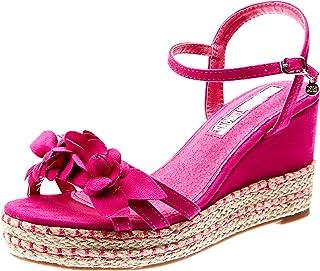 gran venta buena textura más de moda Amazon.es: fucsia - 41 / Sandalias de vestir / Zapatos para ...