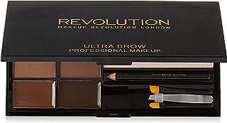 MAKEUP REVOLUTION Ultra Brow Palette Medium to Dark, 19 g