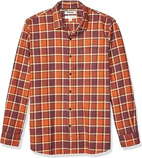 Goodthreads Mens Standard-Fit Long-Sleeve Brushed Flannel Shirt