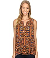 Lucky Brand - Sleeveless Printed Shell Top