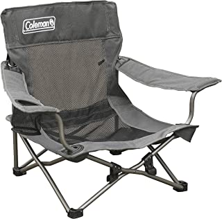 Coleman 1218360 Quad Deluxe Mesh Event Chair, Grey