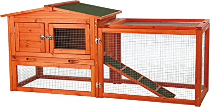 Trixie Rabbit Hutch with Outdoor Run - Extra Small